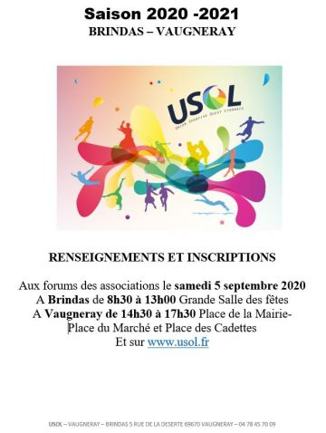 Forum des associations 5 septembre 2020