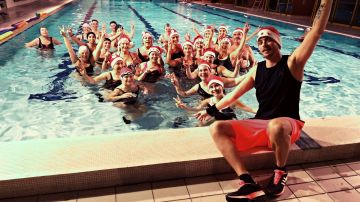 Cours aquagym lundi 19h